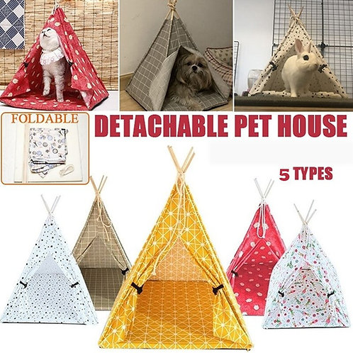 Outdoor Portable Dog Crate Cat Cage Kitten Bed Dog Bed Kennels Crate