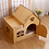Thumbnail: Dog House Dog Baskets House Dog Beds for Small Medium Dogs Pet Supplies