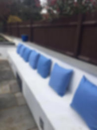 Outdoor cushions clanfield, hampshire, petersfield, waterlooville, portsmouth, havant, southampton