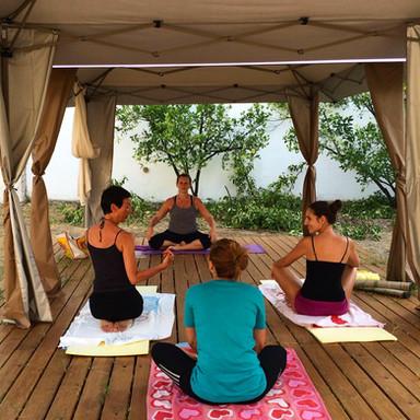 Yoga, Massages and Greek dancing classes