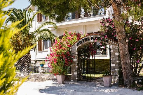 Hotel Kavala Entrance