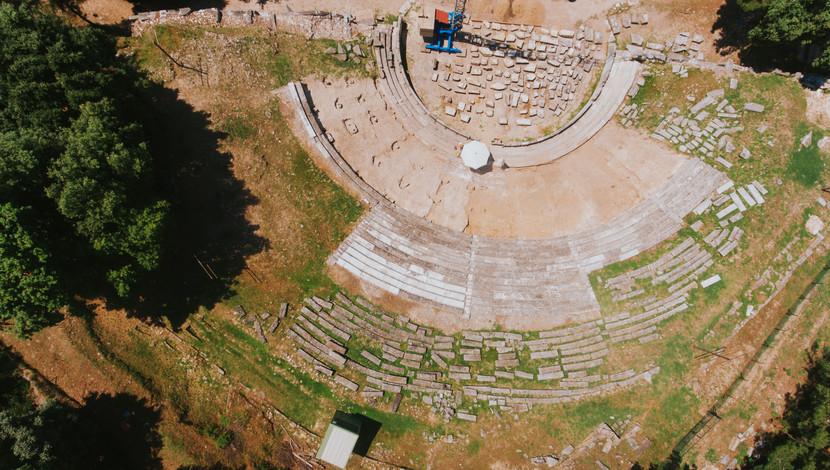 Acropolis and ancient amphitheatre
