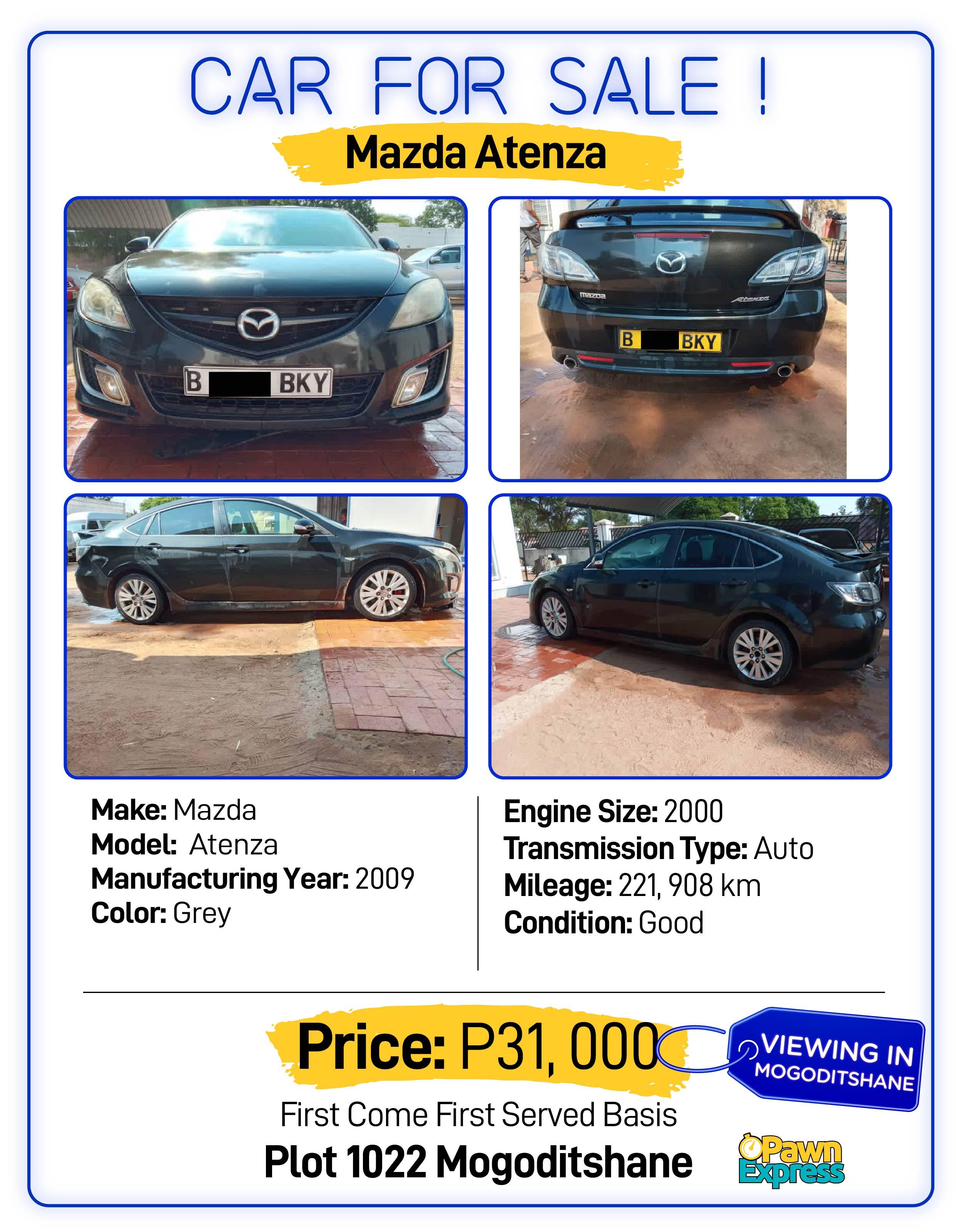 Car Sales Gaborone March 21-03