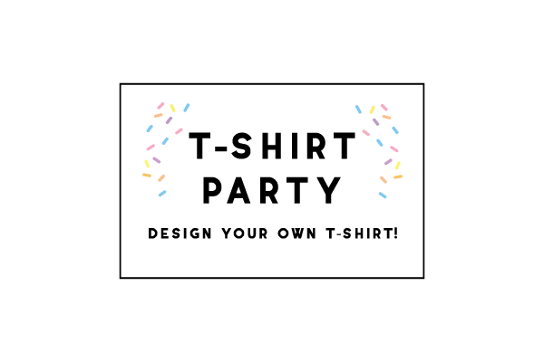 20 person T-Shirt Party