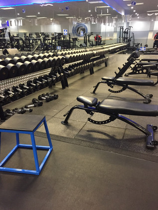 Dumbbells from 2 lbs up to 150 lbs