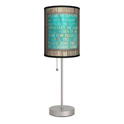 You Are My Sunshine Lyrics Lamp