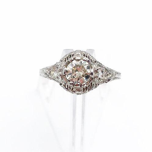 Stunning Platinum Diamond Ring