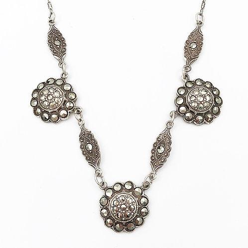 1930's Marcasite Necklace
