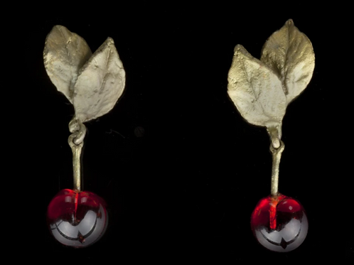 Morello Cherry Earrings