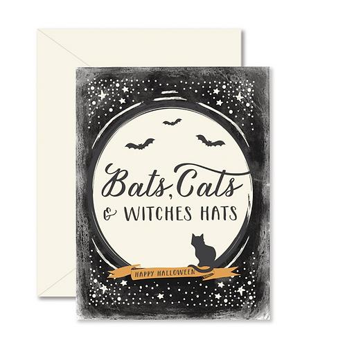Bats, Cats & Witches Hats Cad