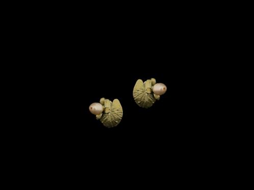 Water Lily Post Earrings