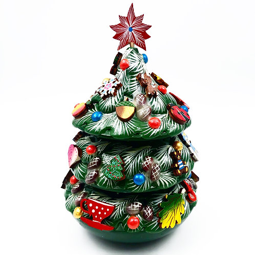 Christmas Tree With Bell Inside