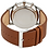 Thumbnail: Men's Watch With Brown Leather Band