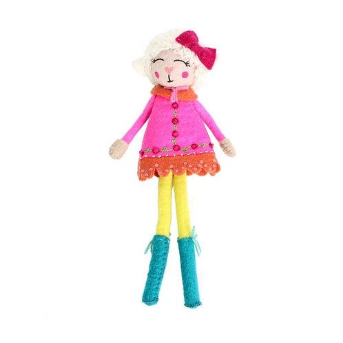 Lulu The Lamb Doll