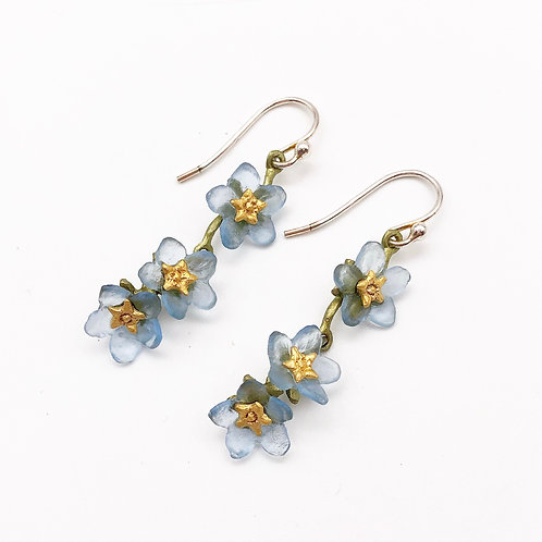 Forget-Me-Knot Earrings