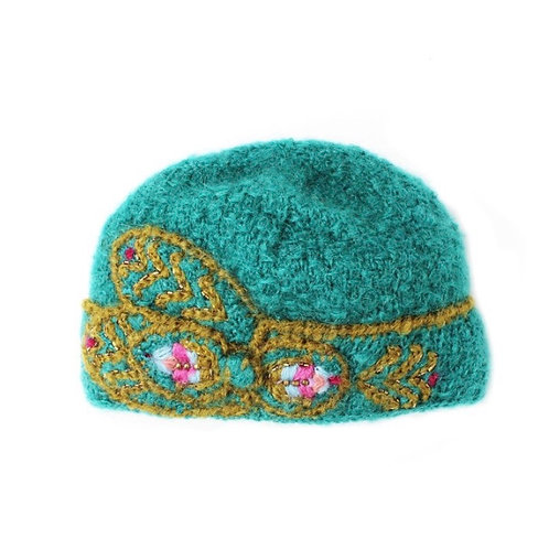 Knit Cloche Hat