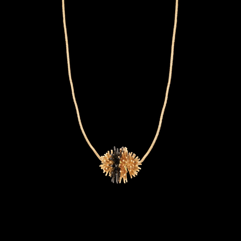 Gone To Seed Two Tone Pendant