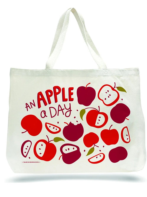 Apple A Day Tote