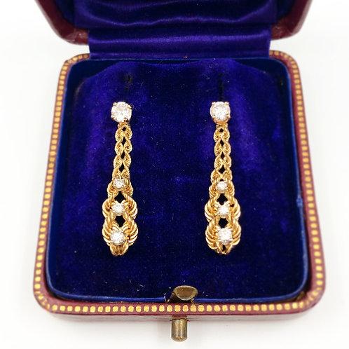 Day & Night Diamond Earrings