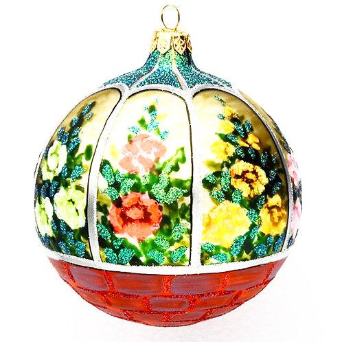 Flower Garnen Ornament