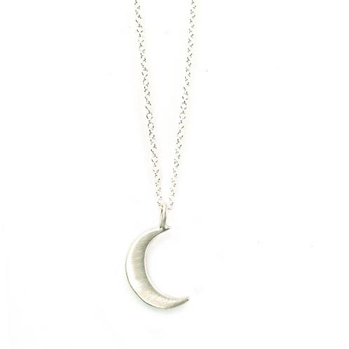 Sterling Moon Pendant