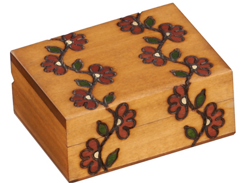Wooden Floral Box