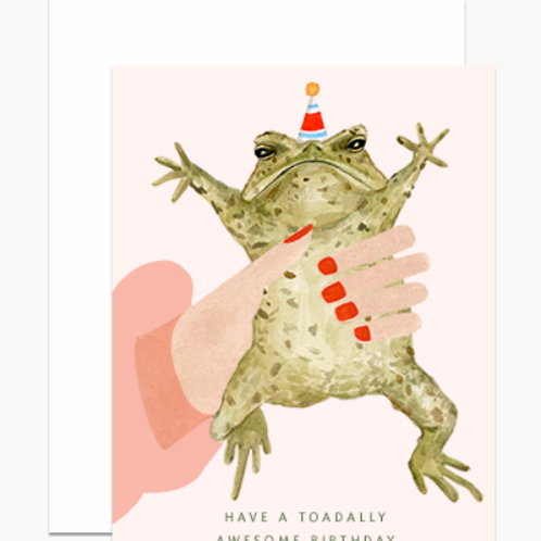 Have A Toadally Awesome Birthday