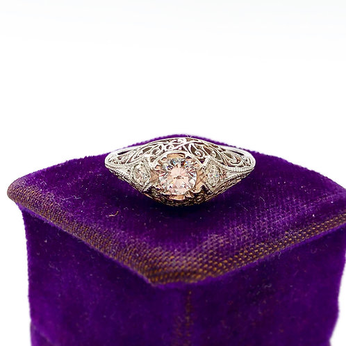 Platinum Edwardian Diamond Ring