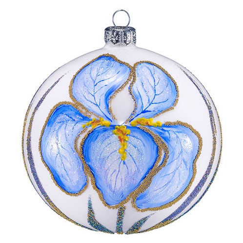 Limited Edition Iris Ornament