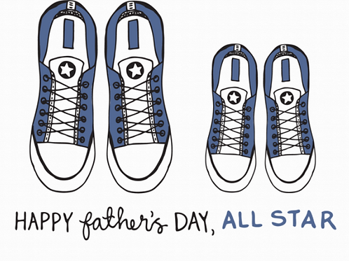 Happy Father's Day, All Star
