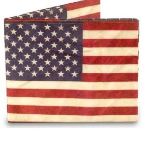 USA American Flag Tyvek Wallet