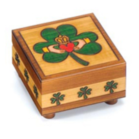 Claddaugh Puzzle Box