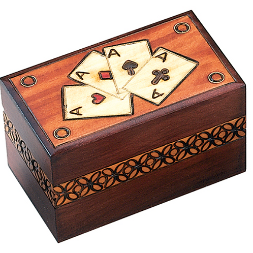 Four Aces Card Box