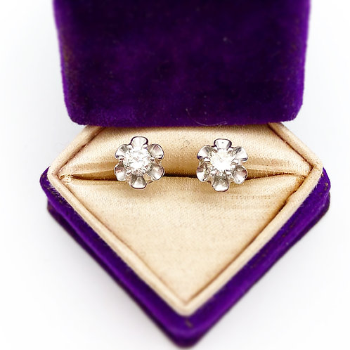 Buttercup Diamond Studs