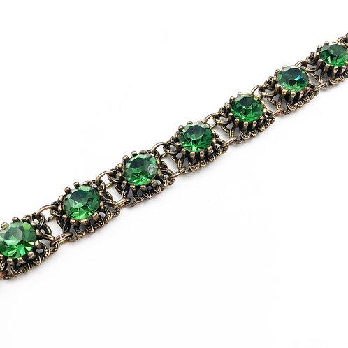 Vintage Green Bracelet