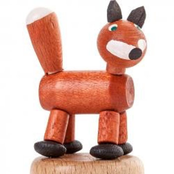 Wooden Fox Thumb Toy