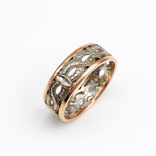 Antique Infinity Wedding Band