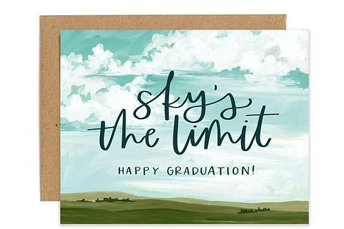 Sky's The Limit. Happy Graduation!