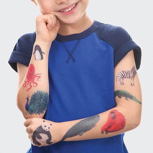 Animal Tattoo Set