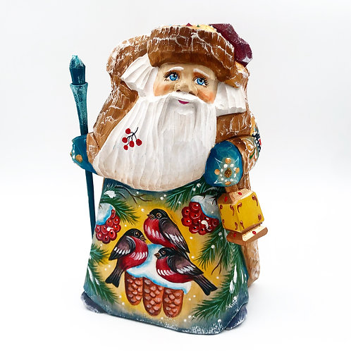 Russian Carved Santa