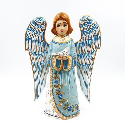 Russian Carved Angel