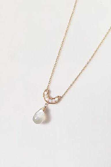 Opal & Moonstone Necklace