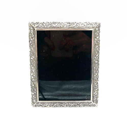 Silver Rectangular Picture Frame