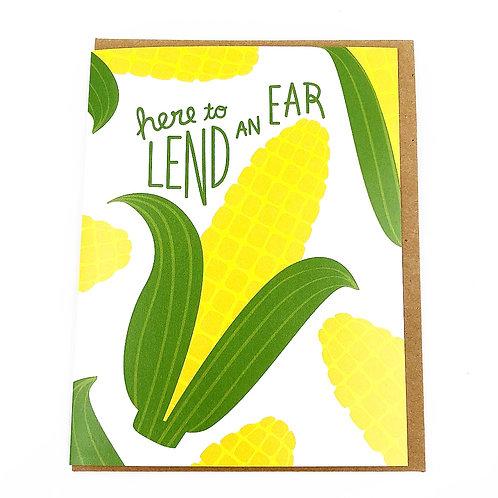 Hear To Lend An Ear