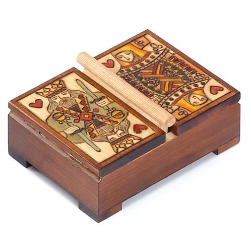 Double Deck Card Box