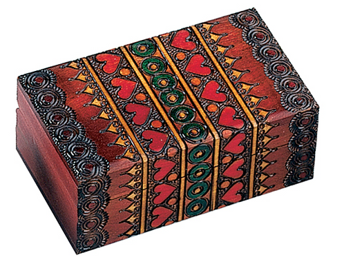 Ornate Trunk Box