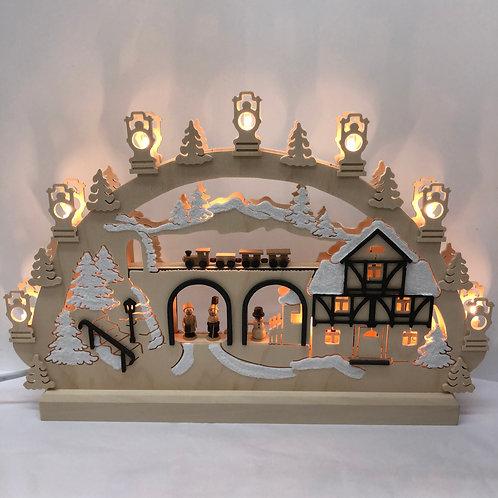 German LED German Village Arch