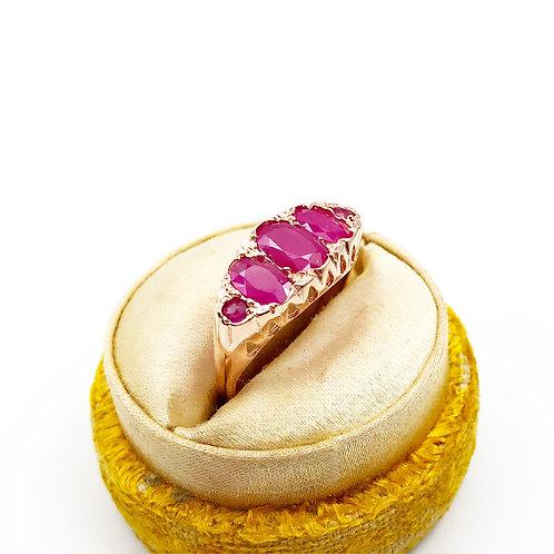2.42 carat Ruby Ring