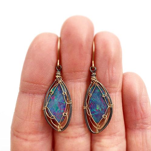 Gorgeous Opal Earrings
