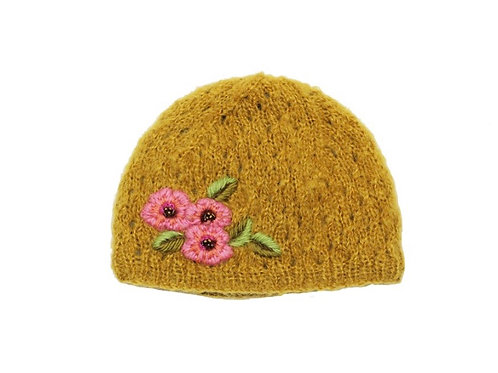Snow Flower Hat